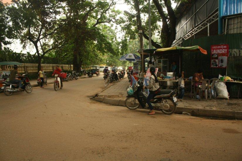 Satu sudut di Siem Reap, Kamboja