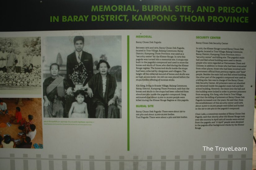 A featured story at Wat Thmey's Killing Field, Siem Reap