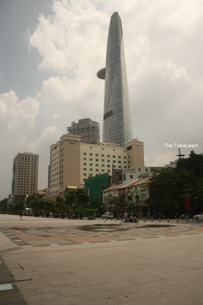 Bitexco Financial Tower, the tallest building in HCMC (262 m)