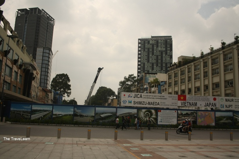 Hello, Ho Chi Minh City :) (this city is currently constructing an MRT line)