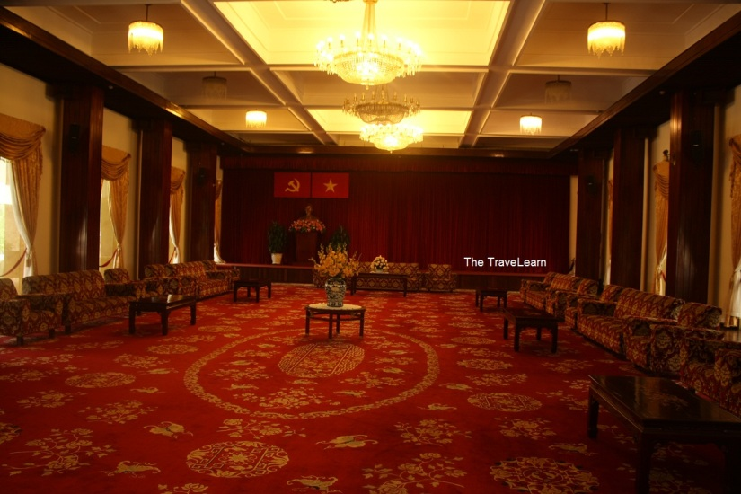Inside the Reunification Palace, Ho Chi Minh City