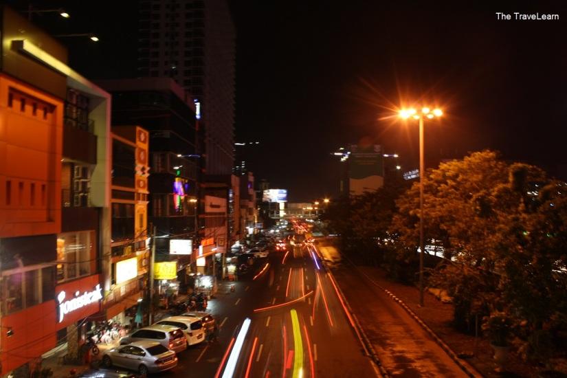 Jalan Hayam Wuruk at night
