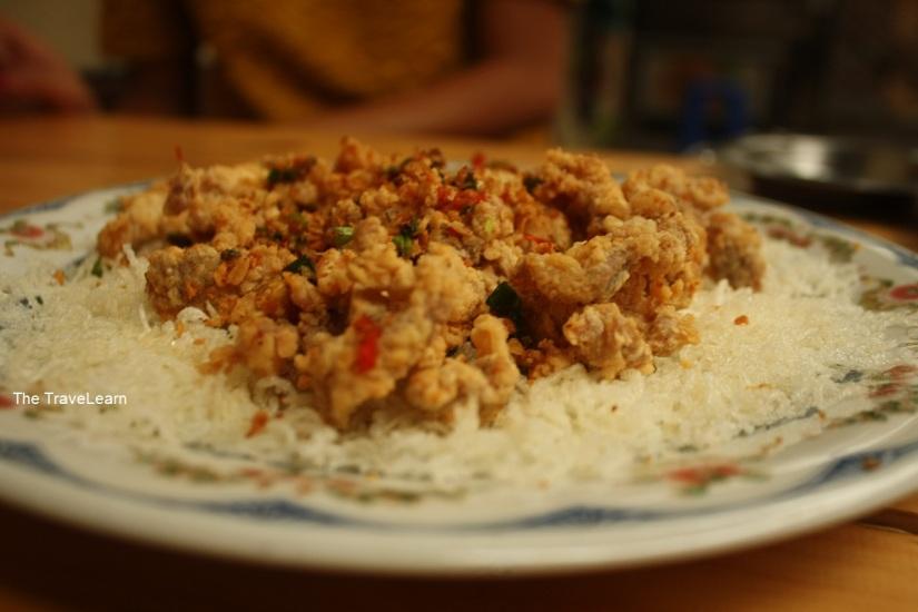Pork Crackle ala Celengan Bandung
