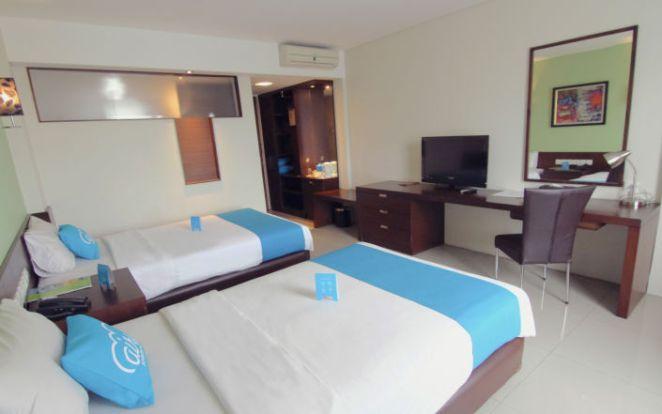 Kamar Hotel Airy Slipi, Jakarta Barat