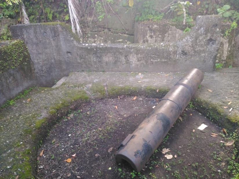 Meriam peninggalan zaman kolonial