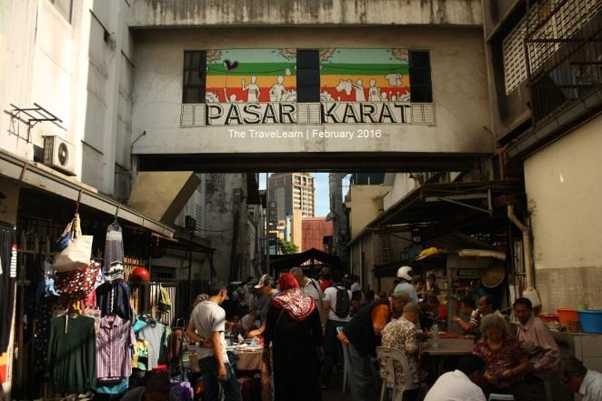 Suasana Pasar Karat, Kuala Lumpur