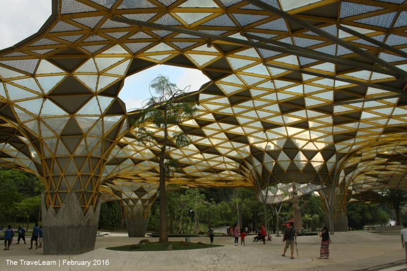 Salah satu titik berkumpul di Taman Botani Perdana