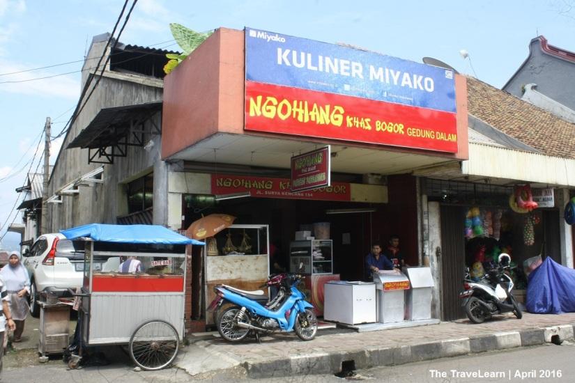 Ngo Hiang, Jalan Suryakencana, Bogor