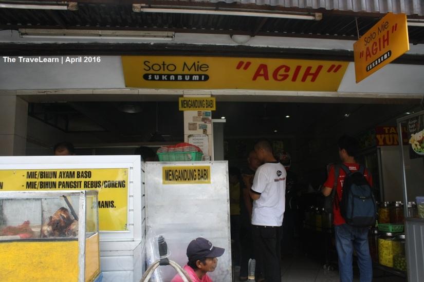 Soto Mie Agih khas Sukabumi, Bogor