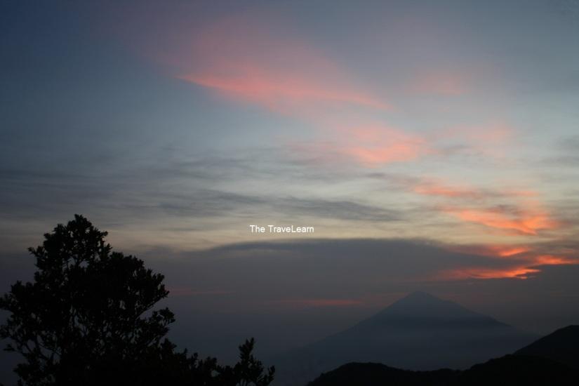 Senja di Gunung Papandayan