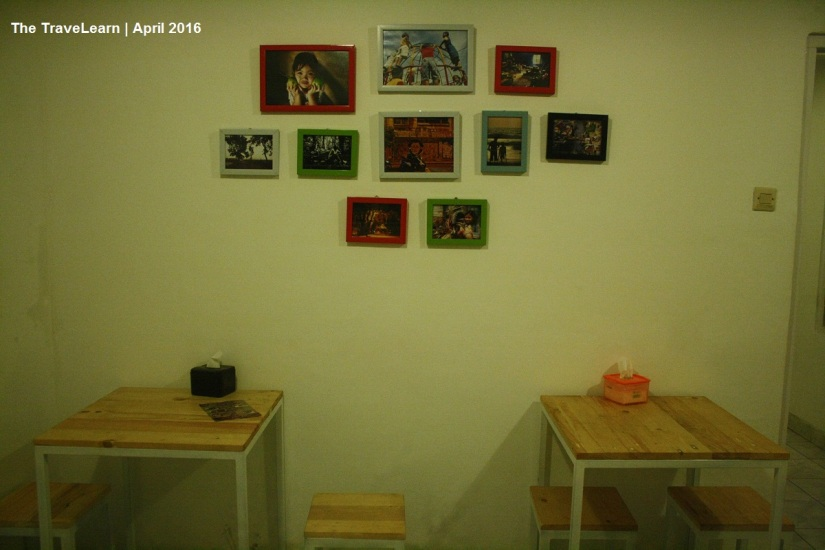 Desain interior kedai Sekar Alas, Bandung