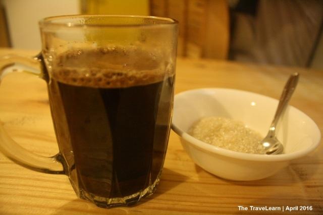 Segelas kopi panas Kapal Silam, Bandung