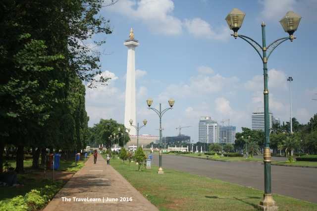 Finally, the National Monument (Monas) Jakarta