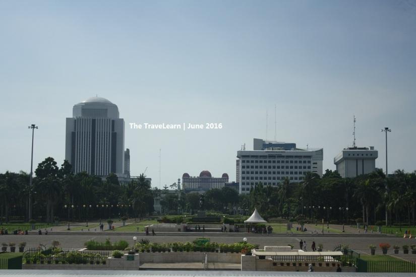 View from Monumen Nasional (Monas), Jakarta