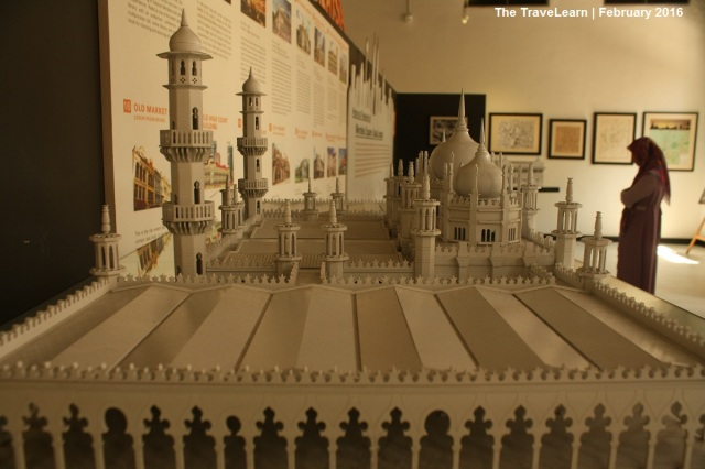 The replica of Masjid Jamek inside KL City Gallery