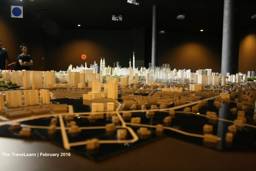 Miniature of Kuala Lumpur after the laser show