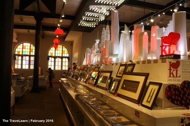 Souvenirs at KL City Gallery, Kuala Lumpur