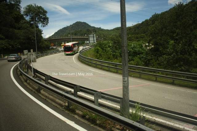 Approaching Genting Highland