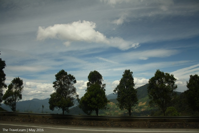 Beautiful scenery when approaching Genting Highland