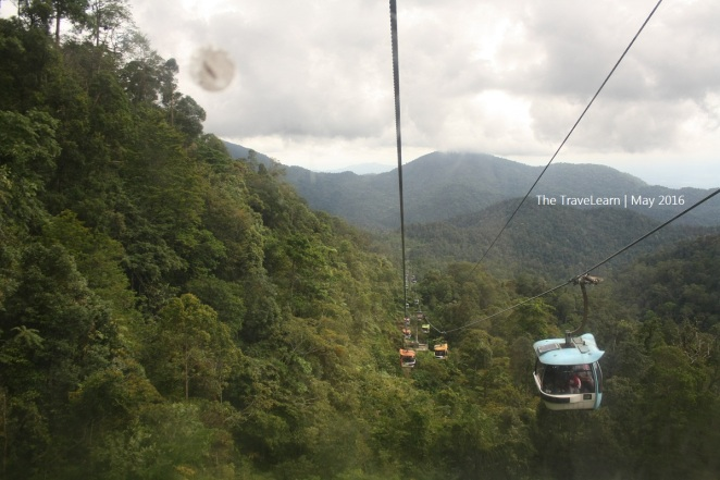 An endless journey of Genting Skyway cable car