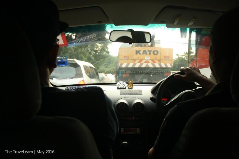 Macet menuju Kuala Lumpur