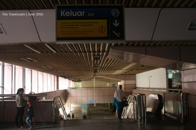 Mengawali langkah di Sawah Besar Station