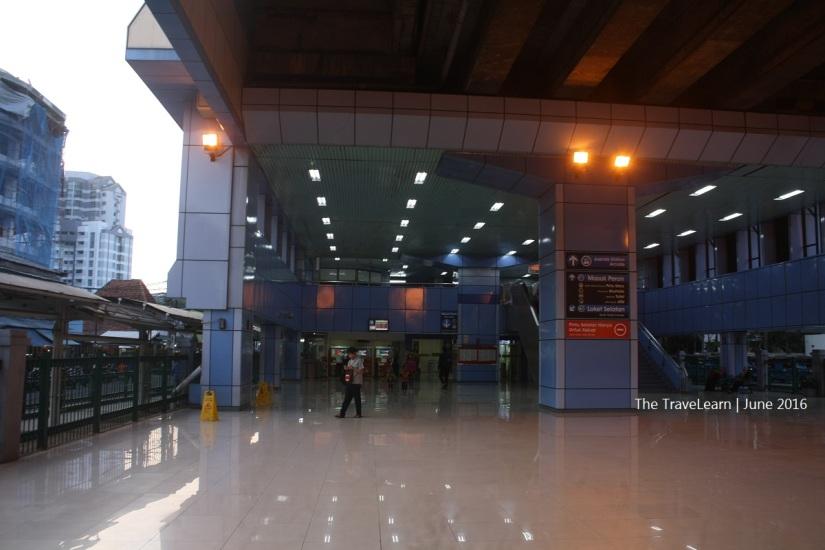 Entering Juanda Station