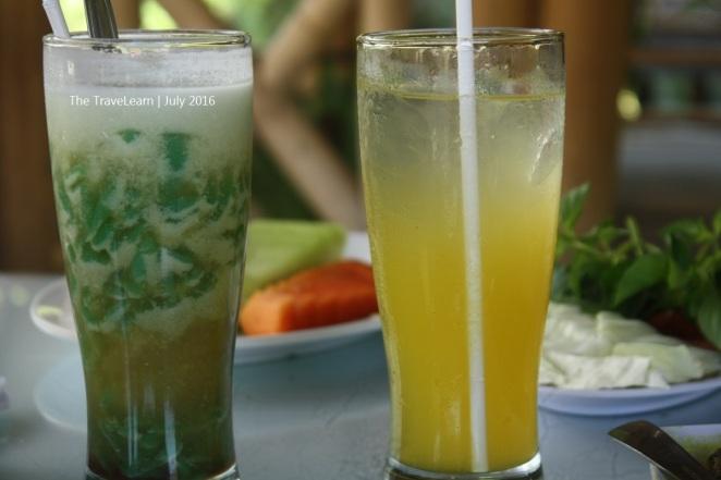 Es Dawet dan Es Lemon Tea