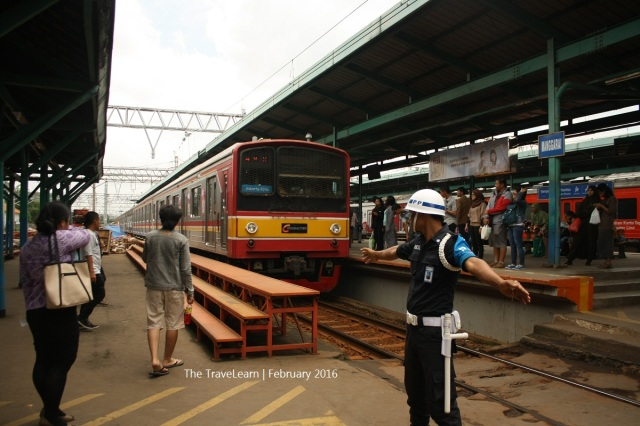 The over loaded Manggarai Station