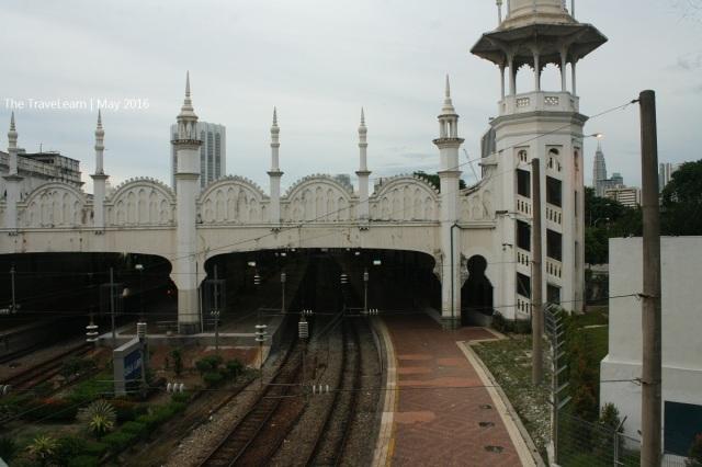 Stasiun Kuala Lumpur lama, jalur rel itu menghubungkan antara Kuala Lumpur dengan Klang