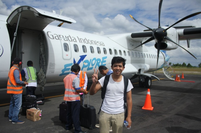 Arrived at Silangit Airport, Tapanuli Utara