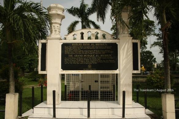 Masjid Raya Medan ini dibangun oleh Sultan Ma'mum Al-Rasyid Perkasa Alam, Kesultanan Deli
