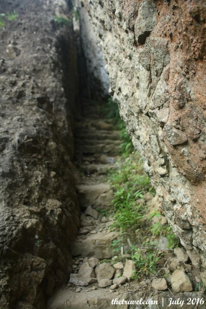 Celah sempit Gunung Purba Nglanggeran