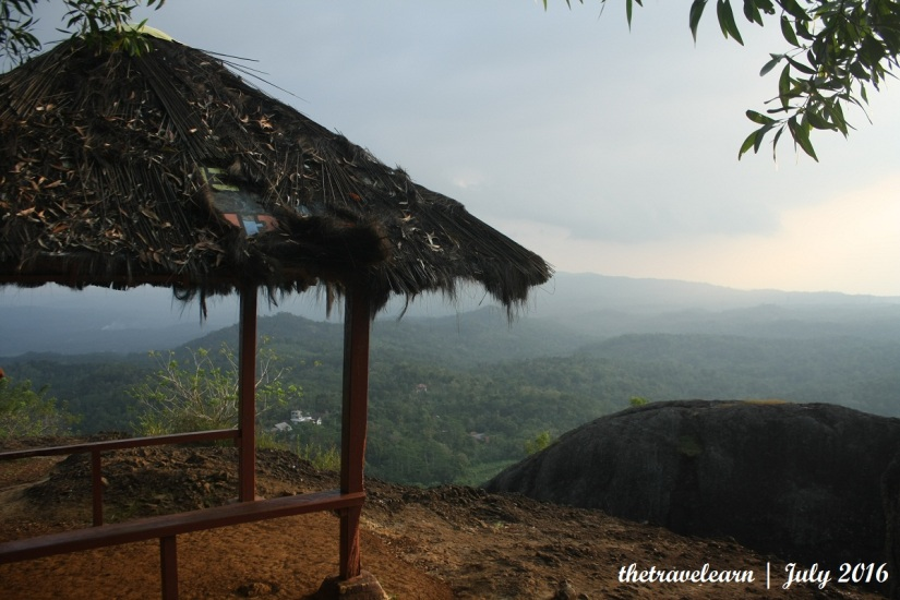 Pos peristirahatan Gunung Purba Nglanggeran