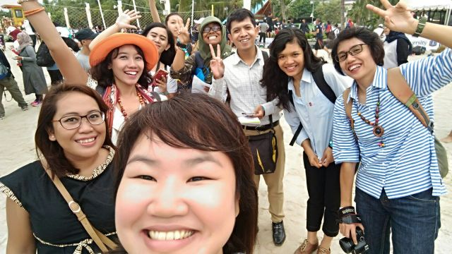 Tiba di Lagoon, Taman Impian Jaya Ancol