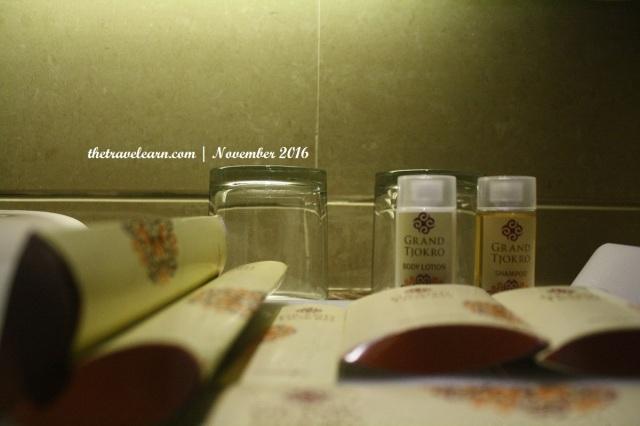 toiletries Hotel Grand Tjokro Bandung