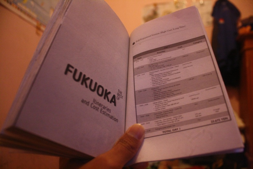 Itinerary Fukuoka Jepang