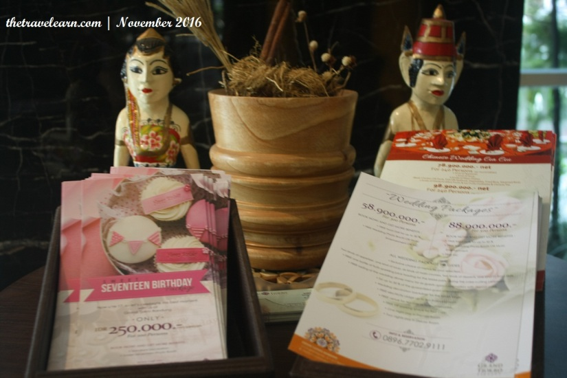 Paket pernikahan dan perayaan ulang tahun Hotel Grand Tjokro