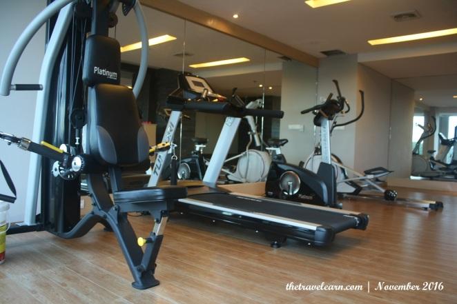 Gym / Fitness Center di Hotel Grand Tjokro Bandung