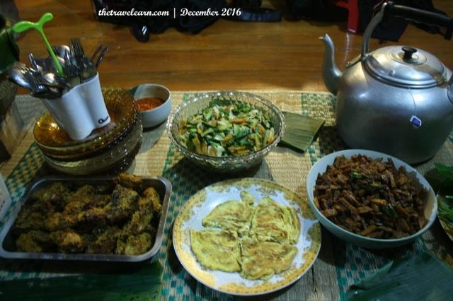 Makan Malam Villa Botani, Bogor