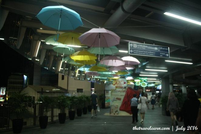 Nice installation near Asok BTS Station, Bangkok