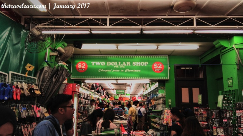 Two Dollar Shop, Chinatown