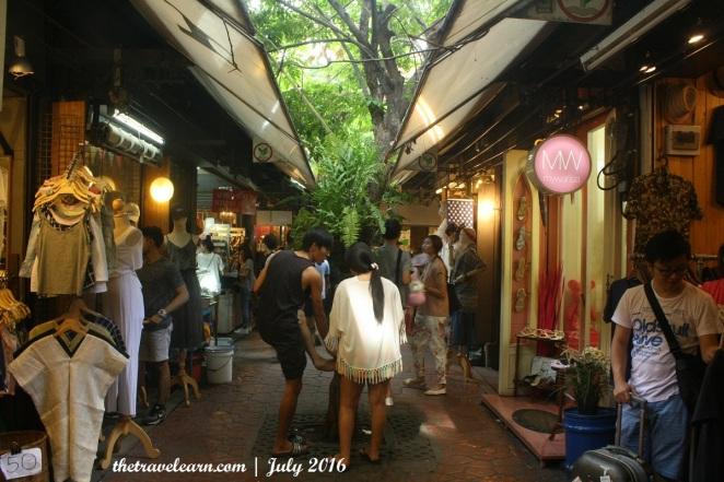 Menyusuri lorong-lorong Chatuchak Weekend Market